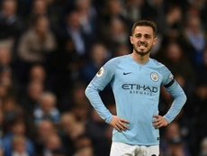 Bernardo Silva would love to play with Messi. AFP
