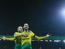 El Norwich casi logra la gesta ante el Tottenham. AFP