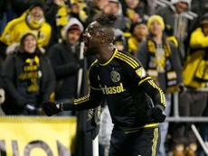El africano ya es centenario en la MLS. AFP