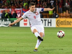 Lewandowski fires Poland to brink of World Cup. AFP