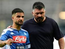 Gattuso sur la sellette à Naples. afp