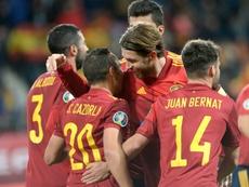 Ramos, Cazorla, Albiol y Navas superarán los 34 años en la Eurocopa. AFP