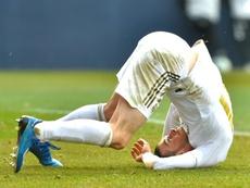 Bale em foco no Madrid. AFP