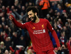 Salah, encensé par Carragher. AFP