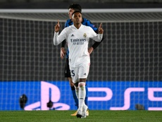 Em sua segunda temporada no Real Madrid, Rodrygo completa 20 anos. AFP