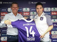 Nasri a bien réagi après la menace de Anderlecht. AFP