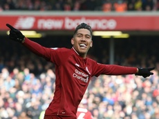 Anfield, stade maudit pour Firmino. AFP