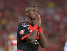 Flamengo teve noite de desperdicio que lhe valeu empate. EFE