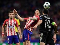 El Qarabag sólo puntuó ante el Atlético. AFP
