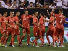 El equipo blanco no habría sido consultado por Tebas sobre la polémica decisión. AFP