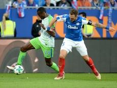 El Wolfsburgo ganó 3-1 en la ida, y repitió 0-1 en la vuelta. AFP
