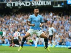 Gabriel Jesus  Manchester City. AFP