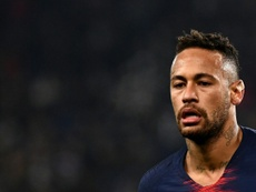 Neymar blamed for Barca's current situation. AFP