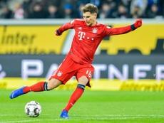 Goretzka ne jouera pas la finale de la Coupe d'Allemagne. AFP