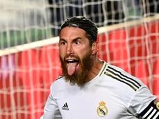 Sergio Ramos comentou a situação do Real Madrid após mais uma vitória. AFP
