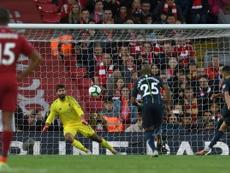 Mahrez's wayward penalty cost Manchester City. AFP