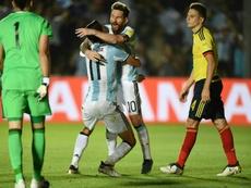 Argentina ya mira de reojo al sorteo. AFP