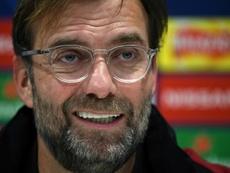 Jürgen Klopp no acudirá a por refuerzos al mercado invernal. AFP/Archivo