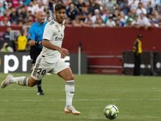 Marco Asensio tiene maneras para liderar a este nuevo Madrid. AFP