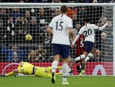 Um Tottenham do jeito que o Special One gosta. AFP