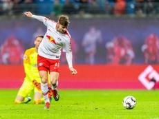 En el Chelsea esperan poder contar con Werner algún día. AFP