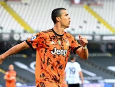 Os espectadores não viram Cristiano Ronaldo em campo. AFP