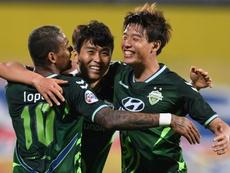 O Campeonato da Coreia do Sul chegou à 12ª rodada. AFP