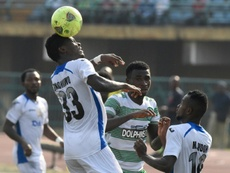 The Nigerian league is back. AFP