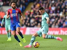 Xhaka vive un momento complicado en el Arsenal. AFP