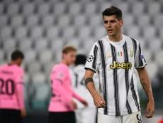 Deux matchs de suspension pour Alvaro Morata. AFP