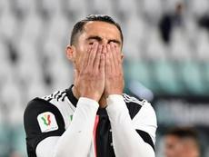 Cristiano, très critiqué en Italie malgré la qualification en finale. AFP