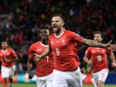 Suiza frustra a Irlanda: así fue el resto de la jornada. AFP