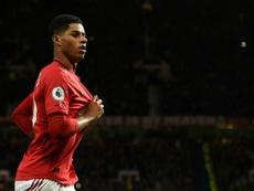 Rashford oblige United à recruter. AFP
