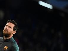 Moratti aún cree que el Inter puede fichar a Messi. AFP