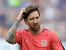 Messi será el extranjero con más partidos. AFP