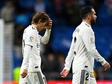Le Real Madrid replonge dans la crise. AFP