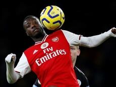 Pépé falou sobre o seu status no Arsenal. AFP