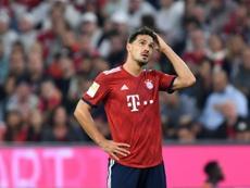 Según el 'Bild', Hummels sabía que iba a partir como suplente en el Bayern. AFP