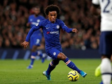 Willian recognised he's had differences with Chelsea. AFP