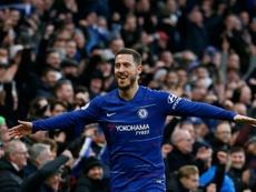 Hazard ne serait plus une priorité pour Madrid. AFP