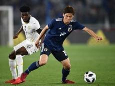 Thomas Partey a été élu meilleur joueur du Ghana pour la seconde année consécutive. AFP