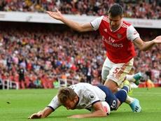 Arsenal résilie le contrat de Sokratis. AFP