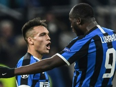 Marotta insisted that Lautaro has not asked to leave. AFP