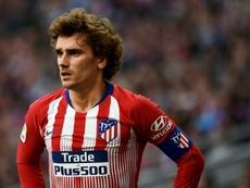 Griezmann could be looking for a way out. AFP