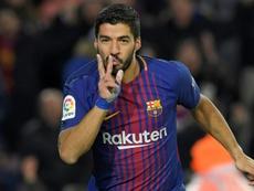 Le numéro 9 providentiel du Barça. AFP