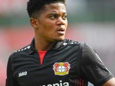 Leon Bailey could leave Bayer Leverkusen. AFP