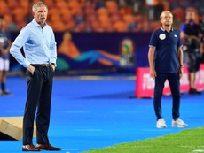 Stuart Baxter ha dejado de ser el seleccionador de Sudáfrica. AFP/Archivo
