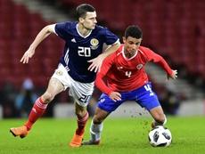 Jamie Murphy is a Scotland international. AFP