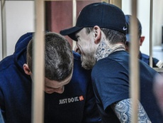 Kokorin et Mamaev obtiennent la liberté anticipée. AFP