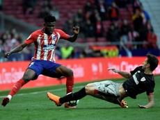 Thomas espera estar listo para ayudar al Atlético a frenar a CR7 y compañía. AFP